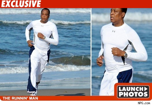 Conrad Murray the runnin' man