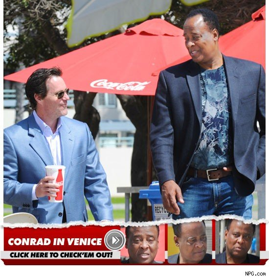 Conrad Murray Coca Cola