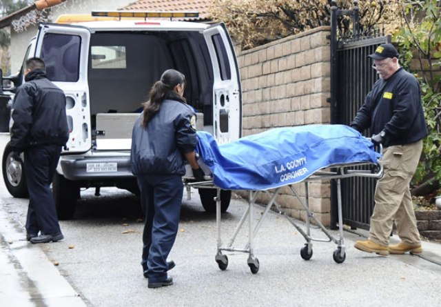 LA County Coroner body bag