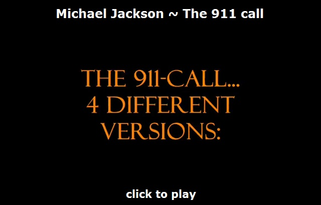 Michael Jackson 911 call or hoax?