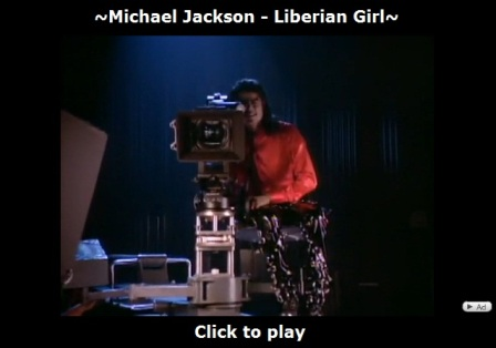 Michael Jackson Liberean Girl video