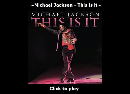 Michael Jackson's This Is It song
