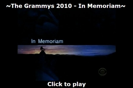 Michael Jackson not included in Grammy Memorial