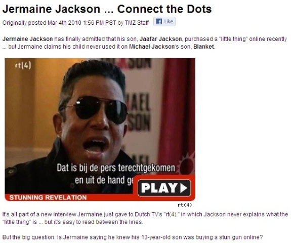 Jermaine Jackson connect the dots