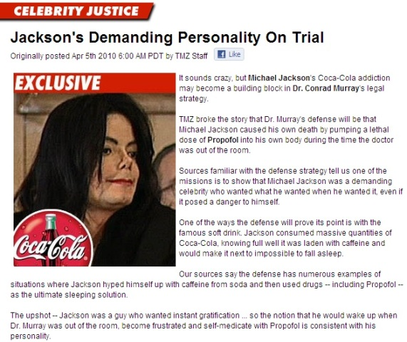Michael Jackson's demanding personality on trial